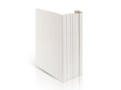 Дверная-околооконная вертикальная планка Доломит 2,1 м Белая