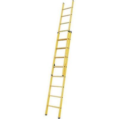 Выдвижная лестница из пластмассы Krause STABILO 2 х 8 перекладин Купить в магазине TAYGER