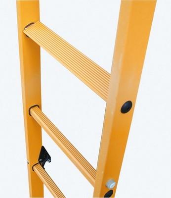 Выдвижная лестница из пластмассы Krause STABILO с тросом, 2 х 14 перекладин Купить в магазине TAYGER