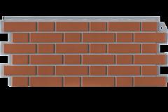 Фасадные панели (Цокольный Сайдинг) Фасайдинг Дачный Кирпич Клинкерный Керамический