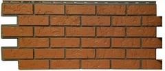 Фасадные панели (Цокольный Сайдинг) Фасайдинг Дачный Русская крепость Керамический