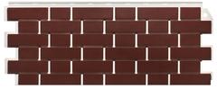 Фасадные панели (Цокольный Сайдинг) FineBer (Файнбир) Кирпич Облицовочный Britt Красный