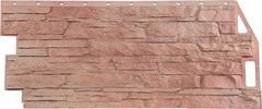 Фасадные панели (Цокольный Сайдинг) FineBer (Файнбир) Скала Терракотовый