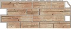 Фасадные панели (Цокольный Сайдинг) FineBer (Файнбир) Сланец Бежевый