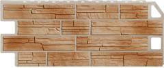Фасадные панели (Цокольный Сайдинг) FineBer (Файнбир) Сланец Терракотовый