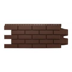 Фасадные панели (Цокольный Сайдинг) Grand Line Кирпич Клинкерный Коричневый