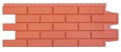 Фасадные панели (Цокольный Сайдинг) Grand Line Кирпич Клинкерный Терракотовый