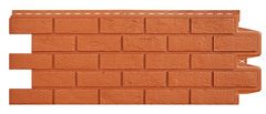 Фасадные панели (Цокольный Сайдинг) Grand Line Кирпич Состаренный Терракотовый