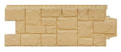 Фасадные панели (Цокольный Сайдинг) Grand Line Крупный Камень Песочный