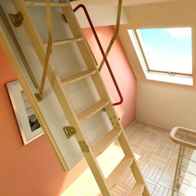 Лестница чердачная Fakro LTK Termo 600х1200х2800 мм