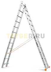 Лестница двухсекционная Эйфель Классик 2х12 ступеней