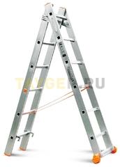 Лестница двухсекционная Эйфель Классик 2х6 ступеней