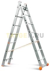 Лестница двухсекционная Эйфель Классик 2х7 ступеней