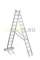 Лестница двухсекционная Эйфель ПРЕМЬЕР 2x12 ступеней