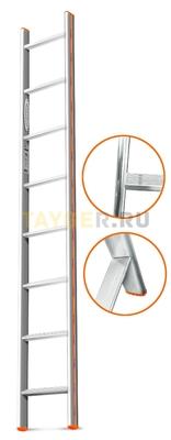 Лестница приставная 8 ступеней Эйфель КОМФОРТ-ПРОФИ односекционная