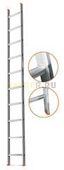 Лестница приставная 10 ступеней Эйфель ГРАНИТ односекционная