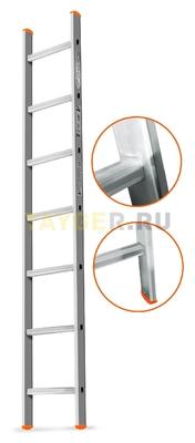 Лестница приставная 7 ступеней Эйфель ГРАНИТ односекционная