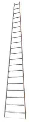 Лестница приставная 20 ступеней Эйфель Комфорт Профи Пирамида