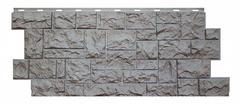 Фасадные панели (Цокольный Сайдинг) Nordside (Нордсайд) Северный Камень Серый