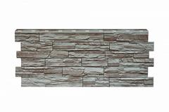 Фасадные панели (Цокольный Сайдинг) Nordside (Нордсайд) Сланец Серый