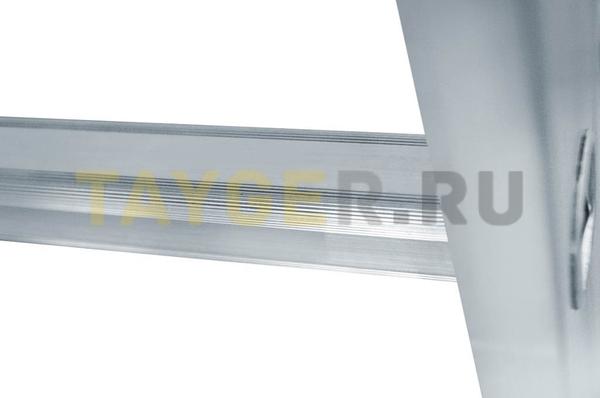 Перекладина алюминиевой приставной лестницы Эйфель ПЛ 82 Классик с противоскользящим рифлением