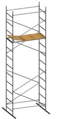Подмости строительные ORTUS-100, высота 4,7 м., настил 0,6х1,4 м.