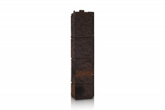 Угол наружный к Фасадным Панелям VOX (Вокс) Sandstone (Сандстоун) Dark Brown