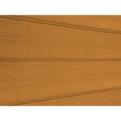 Сайдинг ДПК Savewood Sorbus радиальный распил Тик