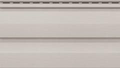 Сайдинг Виниловый VOX Unicolor Светло-серый