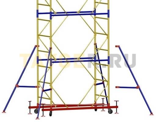 Вышка-тура ВСП 250-1,6 Комплект стабилизаторов