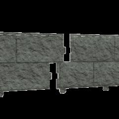 Фасадные панели (Цокольный Сайдинг) Ю-Пласт Стоун Хаус Камень Изумрудный