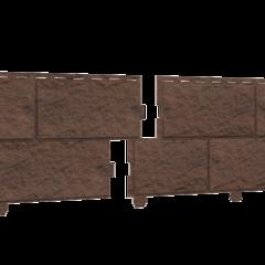 Фасадные панели (Цокольный Сайдинг) Ю-Пласт Стоун Хаус Камень Жженый
