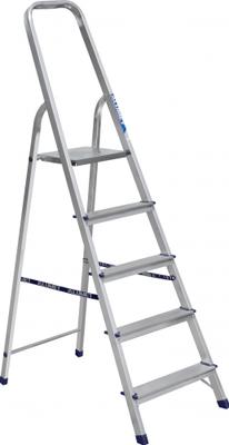 Стремянка алюминиевая АЛЮМЕТ АМ705 5 ступеней (Ам705)
