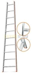 Лестница приставная 10 ступеней Эйфель Комфорт Профи Пирамида