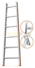 Лестница приставная 6 ступеней Эйфель Комфорт Профи Пирамида