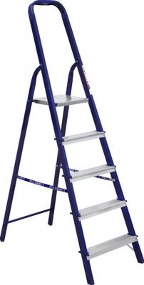 Стальные стремянки выполнены из высокопрочной стали (профиль 40х20) и окрашены полимерной краской. Все ступеньки выполнены из алюминия и имеют рифленую поверхность, что исключает скольжение во время проведения работ. ТЕХНИЧЕСКИЕ ХАРАКТЕРИСТИКИ Высота площ