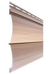 Сайдинг Виниловый Tecos Natural Wood Effect Оцилиндрованный Брус Двойной Канадский дуб