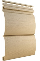 Сайдинг Виниловый Tecos Natural Wood Effect Оцилиндрованный Брус Двойной Ливанский кедр