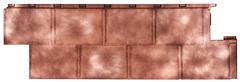 Фасадные панели (Цокольный Сайдинг) Т-Сайдинг (Техоснастка) Галактика Медь