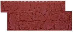 Фасадные панели (Цокольный Сайдинг) Т-Сайдинг (Техоснастка) Гранит Леон Бордо (одноцветный)