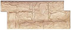 Фасадные панели (Цокольный Сайдинг) Т-Сайдинг (Техоснастка) Гранит Леон Саяны (двухцветный)