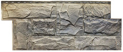 Фасадные панели (Цокольный Сайдинг) Т-Сайдинг (Техоснастка) Гранит Леон Урал (двухцветный)