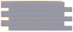 Фасадные панели (Цокольный Сайдинг) Т-Сайдинг (Техоснастка) Керамит (Кирпич Керамический) Серый