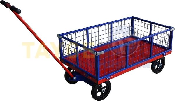 Тележка с поворотной осью ТПОБ-С 5 700х1200 600 кг Rusklad