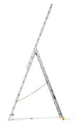 Лестница трехсекционная Эйфель Классик 82 3х11
