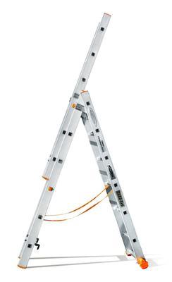 Лестница трехсекционная Эйфель Классик 82 3х6