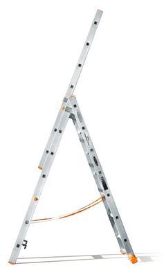 Лестница трехсекционная Эйфель Классик 82 3х7