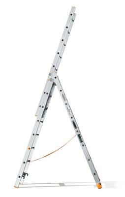 Лестница трехсекционная Эйфель Классик 82 3х8