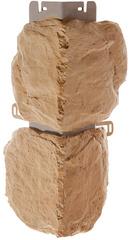 Угол наружный к Фасадным Панелям Альта-Профиль Бутовый Камень Греческий
