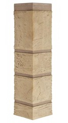Угол наружный к Фасадным Панелям Альта-Профиль Камень Известняк